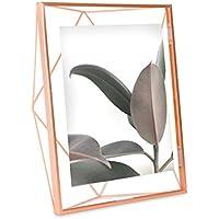 Umbra Prisma - Marco de Fotos, 20.32 x 25.4 cm, Color Cobre