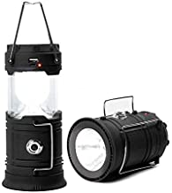 letaowl Camping Licht LED Camping Lantaarn Zonne-energie Outdoor Kamp Tent Lamp USB Oplaadbare Opvouwbare Emergency Licht ...