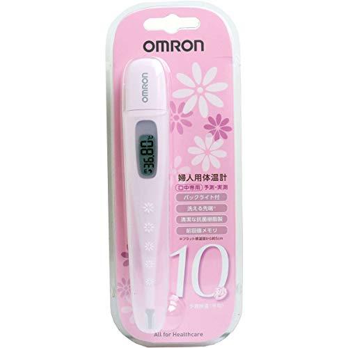 オムロン婦人用電子体温計MC-6830Lピンク