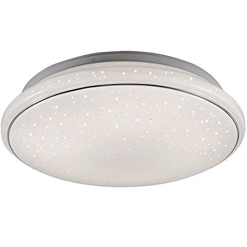 32 Watt LED Decken Wohnraum Lampe Sternen Himmel Effekt Strahler rund 14364-16