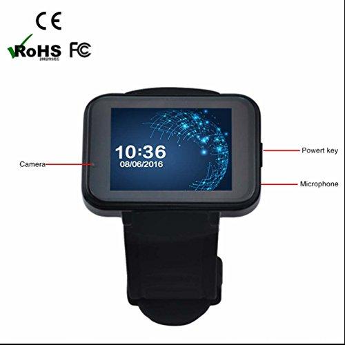 Sport running Smartwatch High performance design sedentario promemoria ad alta sensibilità dello schermo infrangibile qualità del sonno monitoraggio obiettivo orologio sportivo con Android telefono