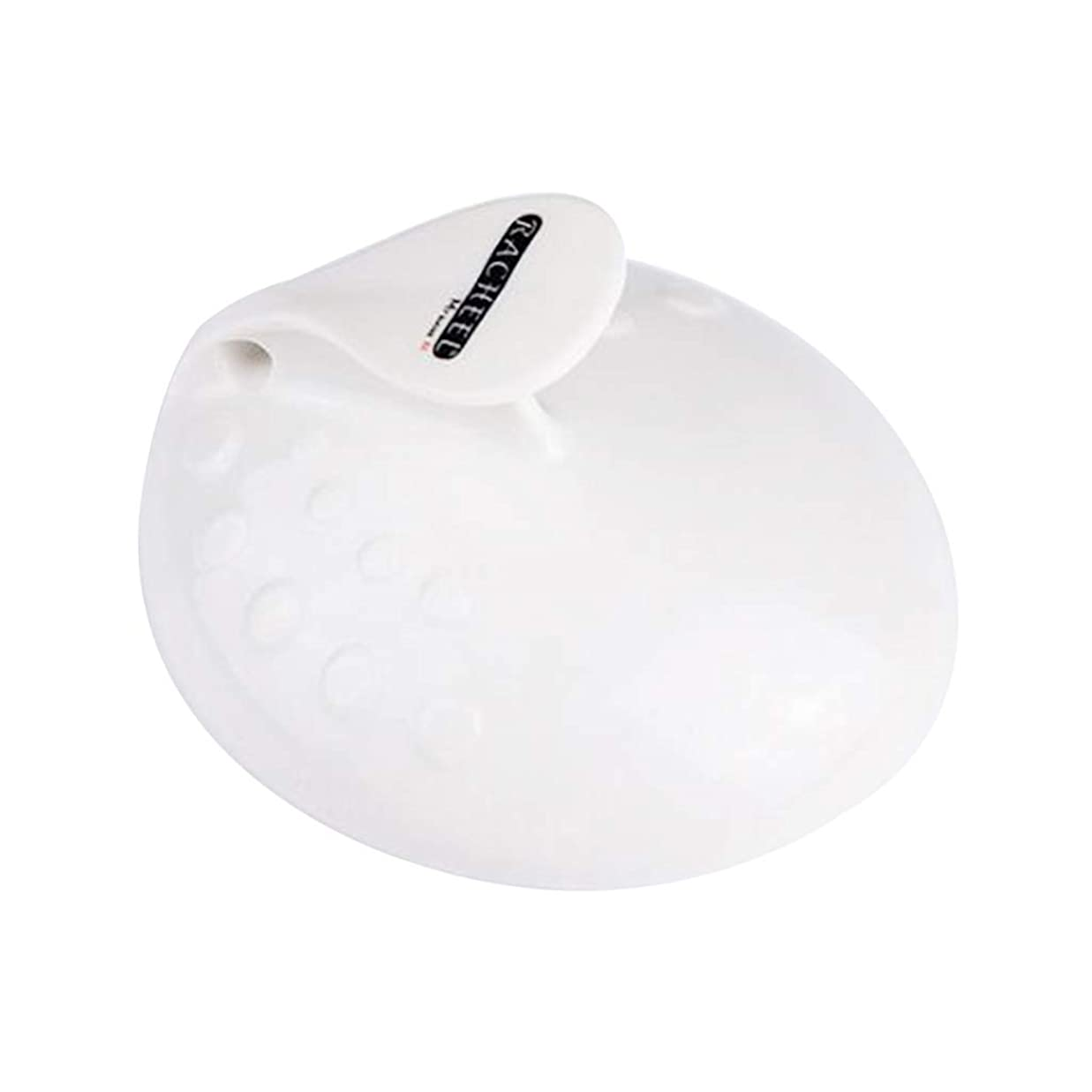 バーガー液体今日Perfeclan フット 角質ケア ペディキュア 足 ファイル 角質取り かかと削り ガラス 爪磨き 全3色 - 白