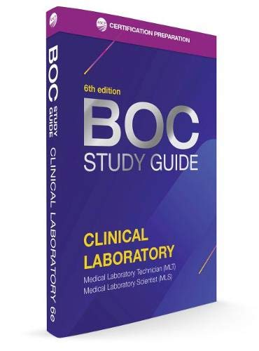 Compare Textbook Prices for BOC Study Guide Clinical Laboratory Exam 6th Edition ISBN 9780891896609 by ASCP Board of Certification Staff