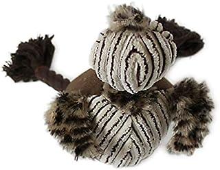 DORLIONA Elephant Sound Chew Three Colors Interactive Dog Toys Pet Toy Animal Shape Lion : JL235B, as Shows