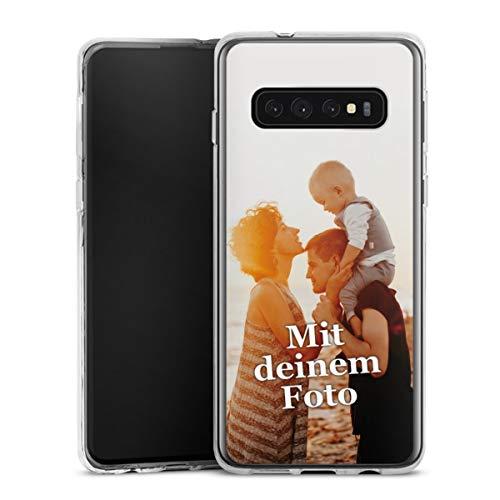 DeinDesign Silikon Hülle kompatibel mit Samsung Galaxy S10 Handyhülle Case Selbst Gestalten Personalisieren Zum Anpassen