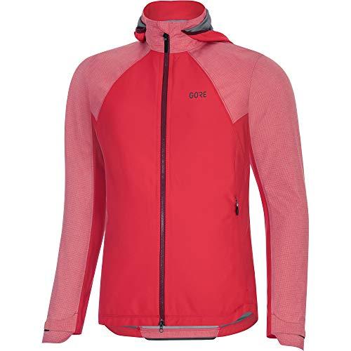 Gore Bike Wear Women's C5 Wmn GTX I Hybrid HD Jacket, Hibiscus Pink, Large