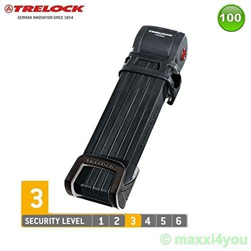 Trelock FS300 Trigo Long Fahrradschloss Faltschloss Schloss Level 3-01200132