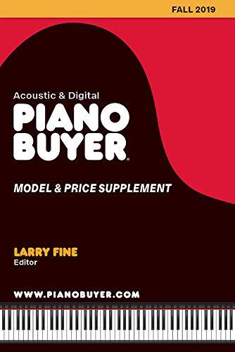 PIANO BUYER MODEL & PRICE SUPP: Fall 2019 (Piano Buyer Model & Price Supplement)