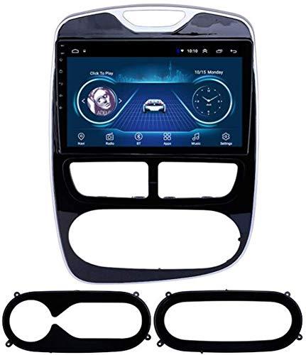 Android 10 Coche Radio GPS Navegación para Renault Clio 2012-2016 Doble DIN Coche Estéreo Sat Nav Nav 9 Pulgadas Pantalla táctil Multimedia Player Support Bluetooth WiFi FM Receptor