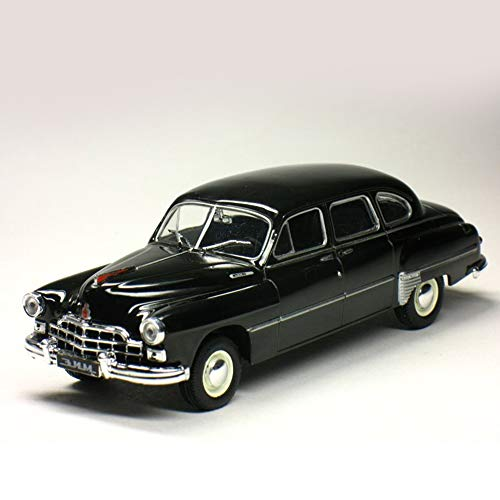 ZIM-12 USSR Soviet Limousine Premium Class Black 1950 Year 1/43 Scale Diecast Collectible Model