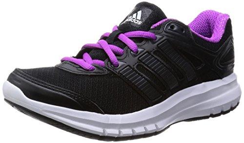 adidas Originals Damen Duramo 6 Laufschuhe, Schwarz (Core Black/Core Black/Flash Pink S15), 39 1/3 EU