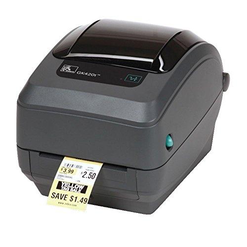 Zebra GK420t stampante per etichette (CD) Trasferimento termico 203 x 203 DPI