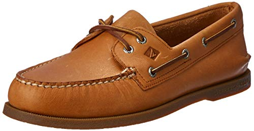 Sperry Mens A/O 2-Eye Boat Shoe, Sahara, 10