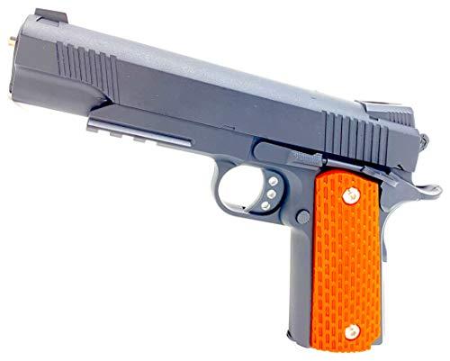 Evil Wear Softair-Pistole Spielzeug-Waffe Metall im Set mit Kugeln 0,5J