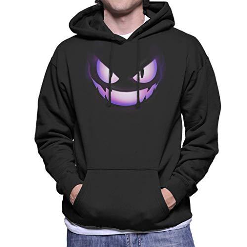 Cloud City 7 Gengar Fire Face Men's Hooded Sweatshirt