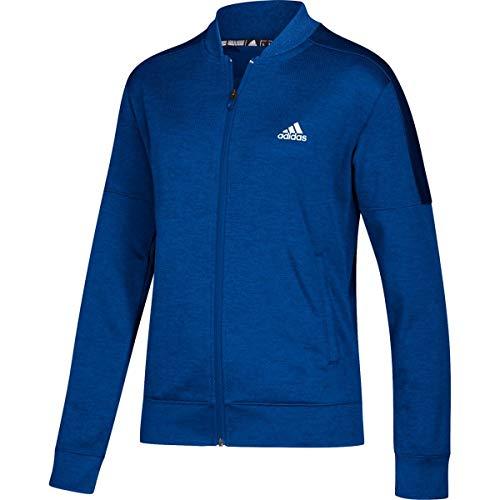 adidas Team Issue Bomber Jacket - Women's Multi-Sport LT Collegiate Royal Melange
