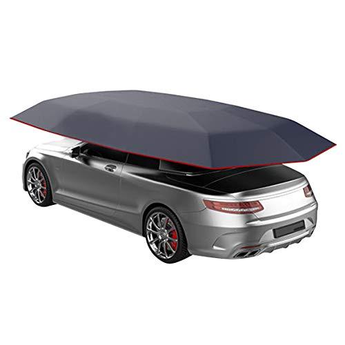 Lopbinte 4.5X2. Nuovo Car Vehicle Tent Ombrellone per Auto Copertura per Parasole Oxford Panno Coperture nel Poliestere Senza Staffa Blu