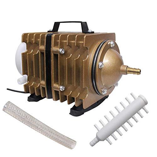 GRECH ACO-012 Eléctrico Magnético Oxígeno Aire Compresor Bomba Aire para Acuario Pecera...