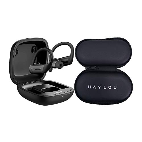 Fone Ouvido Bluetooth Flame Lite MPOW Preto BH452A e Estojo