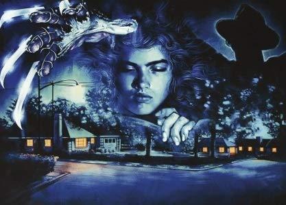 Nightmare ON ELM Street – US Textless Movie Wall Poster Print - A4 Size Plakat Größe Freddy Krueger