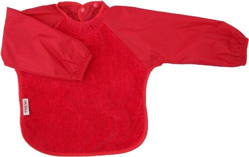 Silly Billyz 3260404 - Babero Con Mangas Largas (6 Meses - 2 Años) Rojo