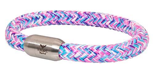 Vincent Blackbird Poseidon Segeltau Armband I multicolor I - Handgemacht in Geschenkverpackung I dick & auffällig (19)