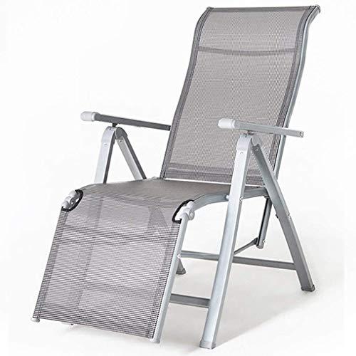 PandaG - Tumbona para exteriores, no pesada, silla de ocio, silla de camping, sillas pesadas para asientos al aire libre, antigravedad
