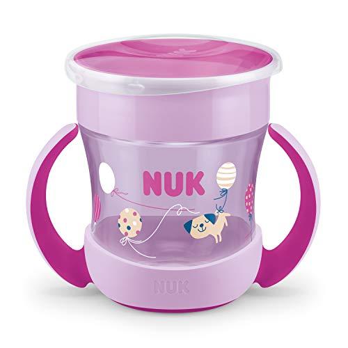 Copo Mini Magic Cup 360º com Alça NUK Evolution 160ml– Girl, NUK, Rosa