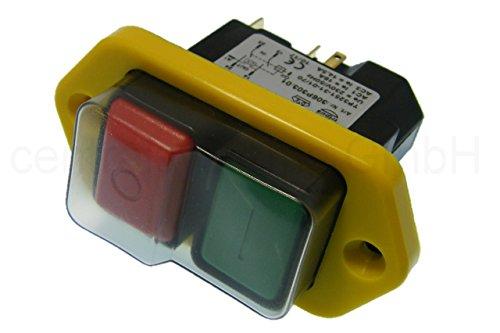 Nullspannungsschalter Sicherheitsschalter mit ausgeführter Spule schützt sicher bei Stromunterbrechung vor automatischem Wiederanlauf