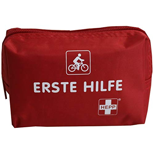Erste Hilfe Set Fahrrad Moped Motorrad Wandern Notfallausrüstung Notfalltasche 14 x 9 x 6cm