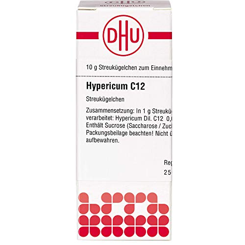 DHU Hypericum C12 Streukügelchen, 10 g Globuli