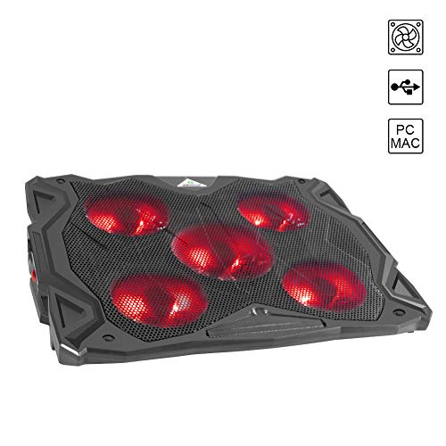 WEYO Bases de Refrigeración para Ordenador Portátil 10'-15,6'- Soporte...