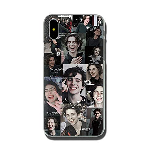 Inspired by Timothee Chalamet music Phone Case Compatible With Iphone 7 XR 6s Plus 6 X 8 9 11 Cases Pro XS Max Clear Iphones Cases TPU- Shirt- White- Sweater- Cell- Costum- 4000484103880
