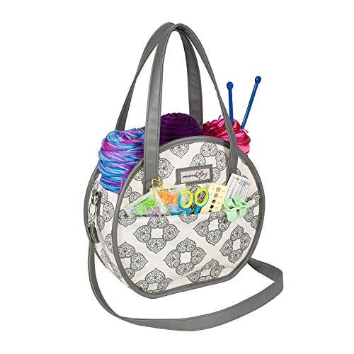 Small Round Yarn Bag
