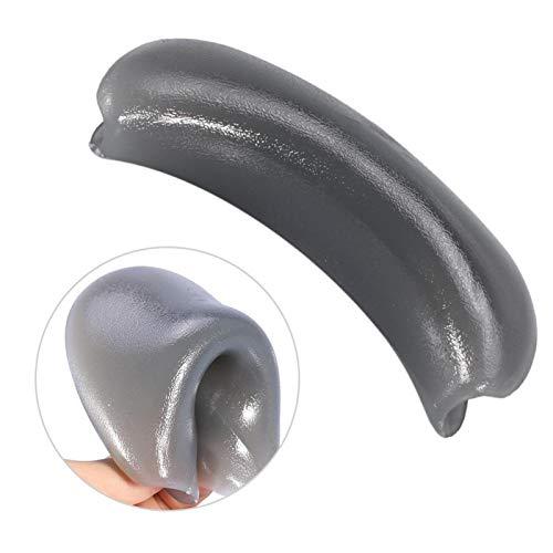 H Bassin - Coussin de cou d'évier de salon - Outil de préhension de bol de shampooing Oreiller en silicone souple, coussin de cou de salon, facile à n