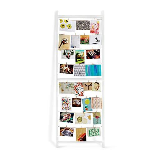 Umbra 315001-660 STANDIT Porte Photos/memos géant 152x53 cm/Blanc