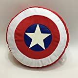 Lily & her Friends – Avengers Captain America Logo Schild Wurfkissen Sofakissen Anime Cartoon...
