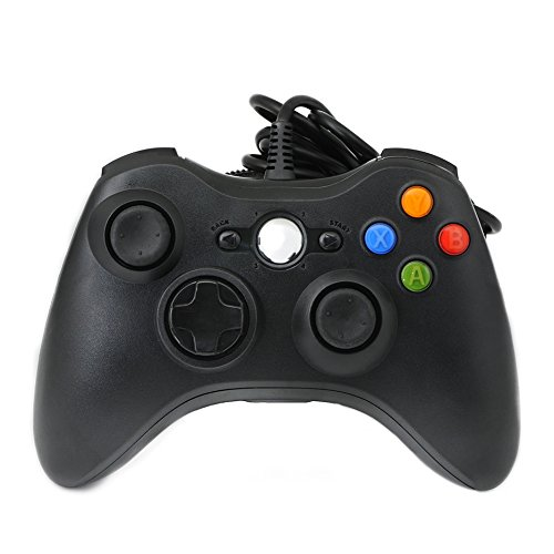 QUMOX Wired verdrahtet Resembles ähneln USB Gamepad Controller Joystick Joypad für PC Windows 7