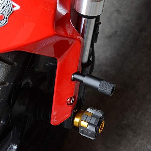 DishyKooker Motorradlampen-Verlängerungshalterung Externer Scheinwerferhalter