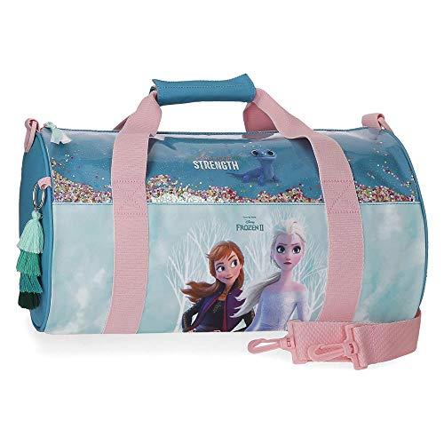 Bolsa de Viaje Frozen Find Your Strenght, Azul, 35x21x11,5 cm