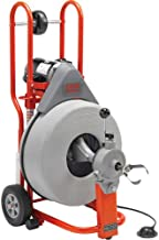 Ridgid 41977 K-750-SE Drum Machine Kit with Auto Feed for Drain/Sewer Lines