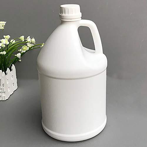 4 L Tragbare Camping F-Style Klare Plastikwasserdose Flasche Mit Pumpe, Runder Plastikwasserkrug Behälter Wasserballon Für Saftwassermilch Oder Flüssigkeiten(Color:UNDURCHSICHTIG)