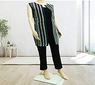Emoltem Women's Sleeveless Kimono - KMN0003