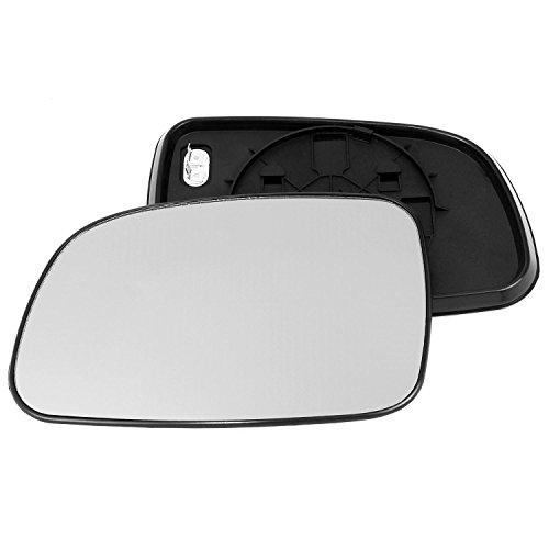 clip-on Driver laterale destra anta vetro argento specchio con piastra di # c-sn//r-ptbxr94/
