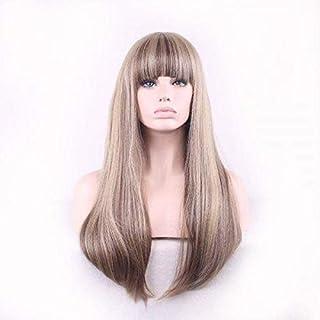 Women Cosplay Wig Linen Grey Fashion Wavy Long Wig 65cm-70cm
