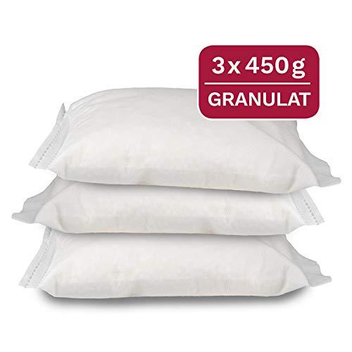 3 x 450 g Universal Luftentfeuchter Nachfüllpack im Vliesbeutel, passend für gängige Raumentfeuchter