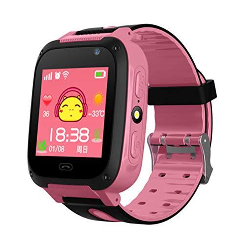 Buwei S4 Reloj Inteligente con Pantalla táctil a Prueba de Agua Reloj...