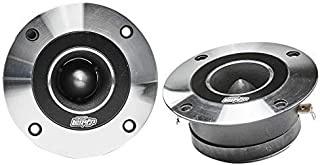 "Audio Legion High Compression Chrome Bullet Super Tweeters Pair - 3.5"" 400W Tweeters - Car Tweeters - Car Audio (3.5"" 400W... photo"