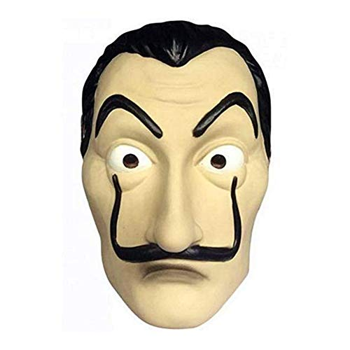 ITAUK Halloween Masque réaliste nouveauté Costume Costume Partie Masque Masque au Latex