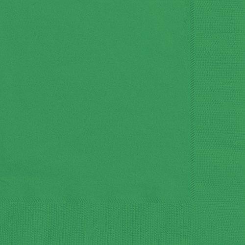 Unique Industries 80,904,1 – 16,5 cm smaragdgröna pappersservetter, paket med 20